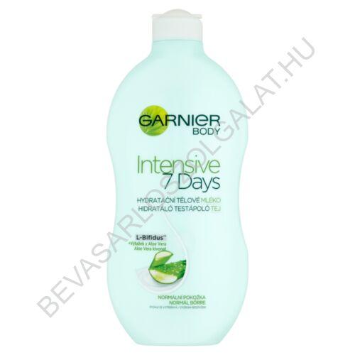Garnier Intensive 7 Days Hidratáló Testápoló Tej Normál Bőrre 400 ml