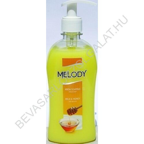 Reál Melody Milk & Honey Krémszappan pumpás 500 ml (#10)