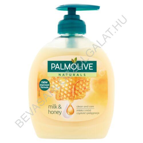 Palmolive Naturals Milk & Honey Folyékony Szappan pumpás 300 ml