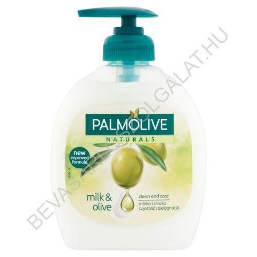 Palmolive Naturals Milk & Olive Folyékony Szappan pumpás 300 ml