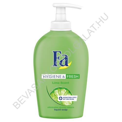 Fa Folyékony Szappan Hygiene & Fresh Lime Scent pumpás 250 ml