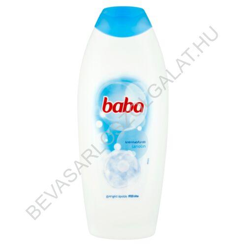 Baba Habfürdő Lanolinos 750 ml