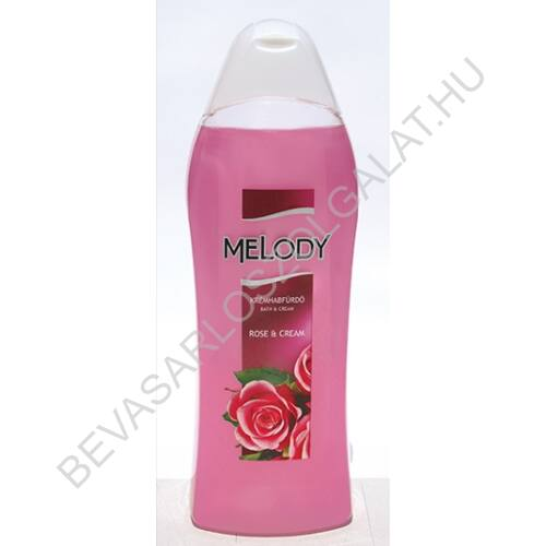 Reál Melody Krémhabfürdő Rose & Cream 1000 ml (#8)