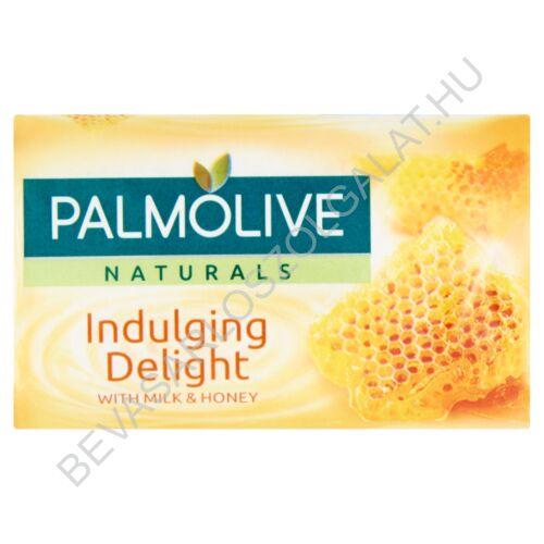 Palmolive Naturals Indulging Delight Szappan Tej és Méz Kivonatokkal 90 g