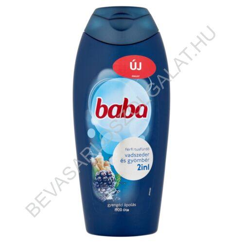 Baba Férfi Tusfürdő 2in1 Vadszeder & Gyömbér 400 ml