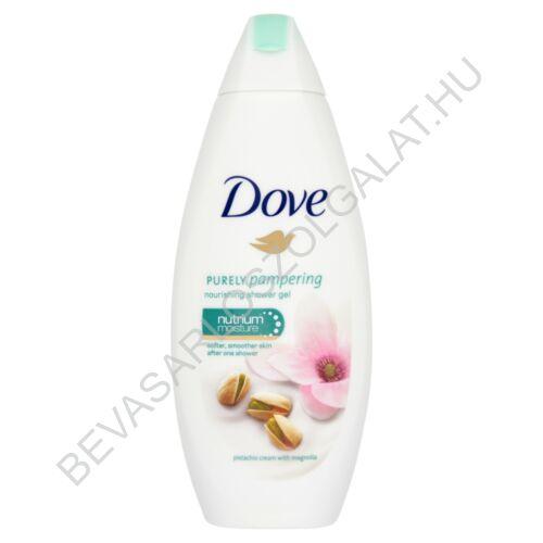 Dove Purely Pampering Bőrtápláló Krémtusfürdő Pisztácia Krémmel és Magnóliával 250 ml