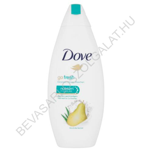 Dove Go Fresh RejuvenateTusfürdő Körte - Aloe 250 ml