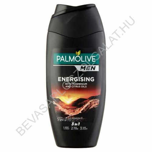 Palmolive Men 3in1 Energising Tusfürdő Testre, Arcra és Hajra 250 ml