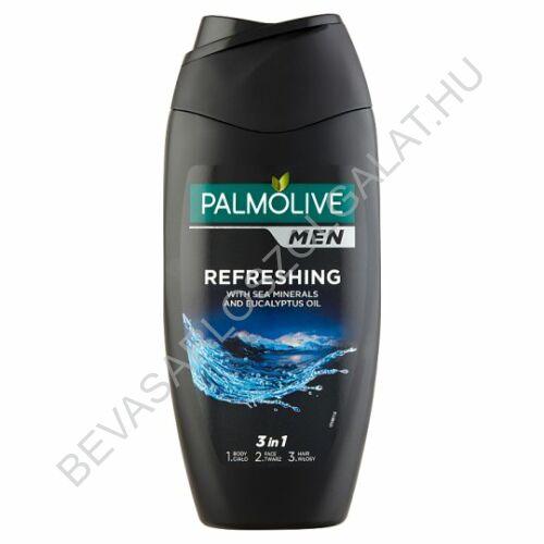 Palmolive Men 3in1 Refreshing Tusfürdő Testre, Arcra és Hajra 250 ml