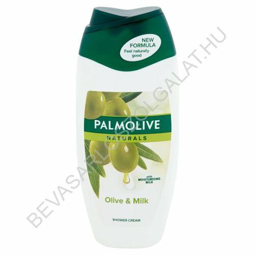 Palmolive Naturlas Olive & Milk Tusfürdő Olíva Kivonattal és Hidratáló Tejjel 250 ml