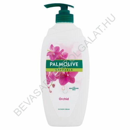 Palmolive Naturals Exotic Orchid Tusfürdő Orchidea Kivonattal és Hidratáló Tejjel pumpás 750 ml