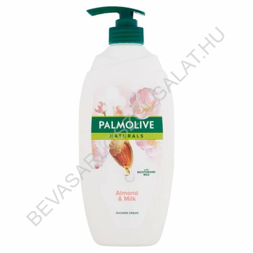 Palmolive Naturals Almond & Milk Tusfürdő Mandula Kivonattal és Hidratáló Tejjel pumpás 750 ml