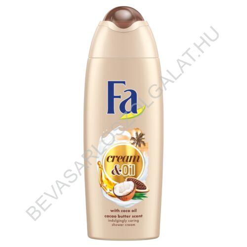 Fa Cream & Oil Tusfürdő Kakaóvajjal és Kókuszolajjal 250 ml