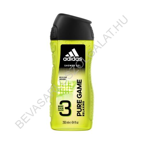 Adidas Férfi Tusfürdő Pure Game 250 ml