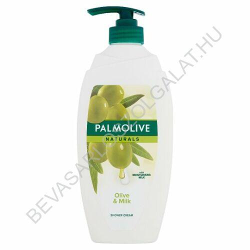 Palmolive Naturals Olive & Milk Tusfürdő Olíva Kivonattal és Hidratáló Tejjel pumpás 750 ml