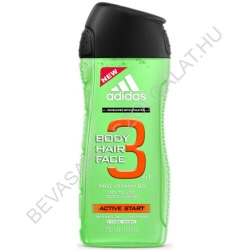 Adidas Férfi Tusfürdő 3in1 Active Start 250 ml