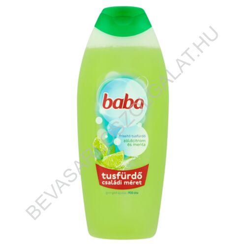 Baba Tusfürdő Zöldcitrom és Menta 750 ml