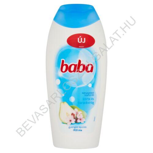 Baba Tusfürdő Körte és Barackvirág 400 ml
