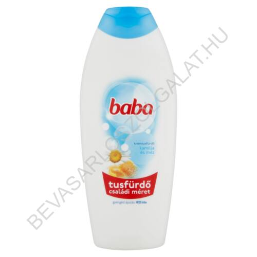 Baba Tusfürdő Kamilla és Méz 750 ml