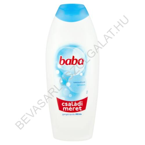 Baba Tusfürdő Lanolinos 750 ml