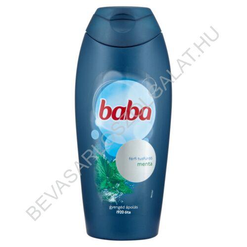 Baba Férfi Tusfürdő Menta 400 ml