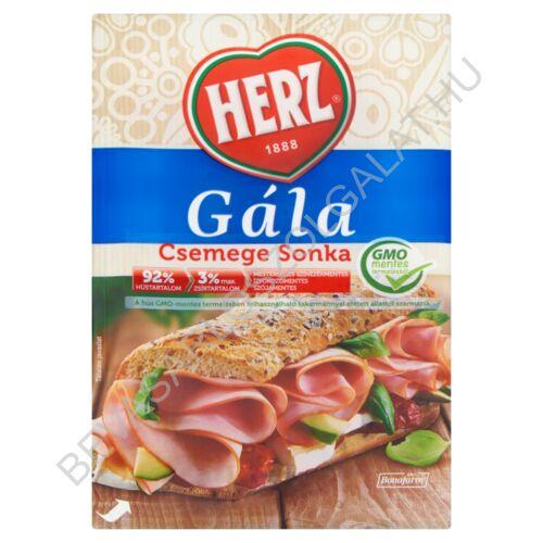 Herz Gála Csemege Sonka szeletelt, védőgázas 90 g