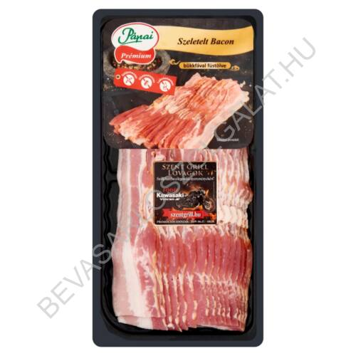 Pápai Hús Szeletelt Bacon Szalonna vákuumcsomagolt 200 g