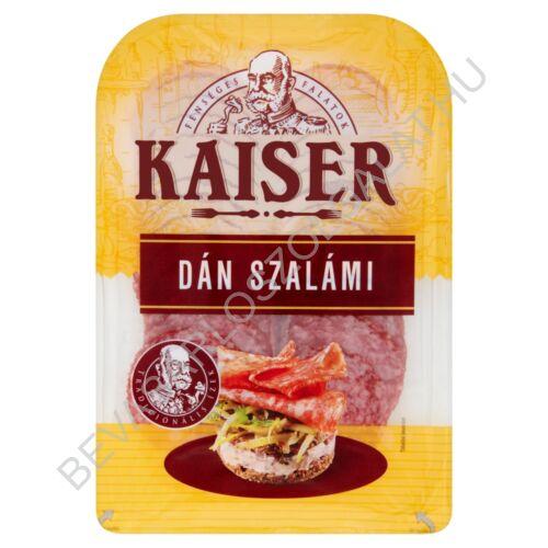 Kaiser Dán Szalámi szeletelt, védőgázas 75 g