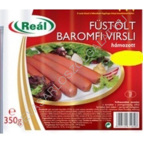 Reál Füstölt Frankfurti (Hámozott Baromfi Virsli) 350 g (#12)