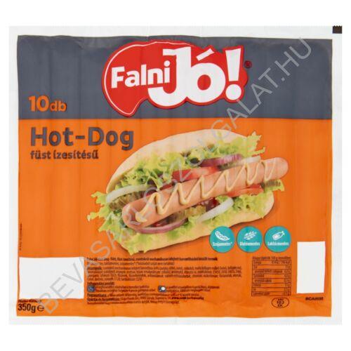 Sága Falni Jó! füst ízesítésű hot-dog virsli 10 db, 350 g (#16)