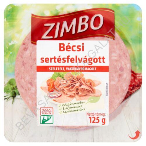 Zimbo Bécsi Felvágott szeletelt 125 g
