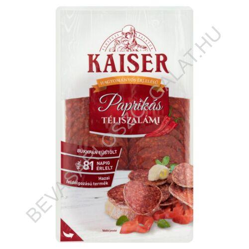 Kaiser szeletelt paprikás téliszalámi 75 g