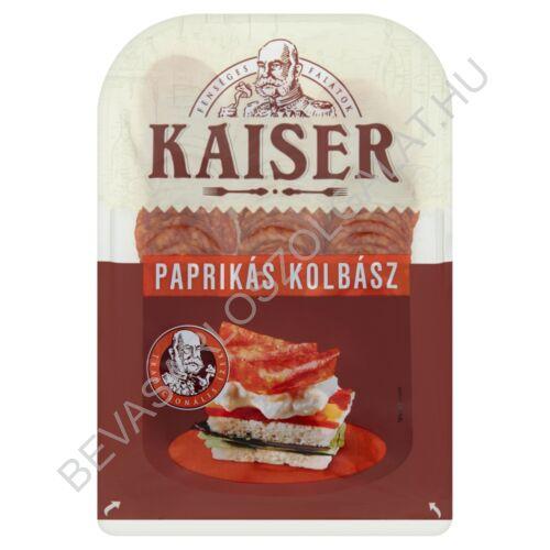 Kaiser Paprikás Kolbász szeletelt, védőgázas 75 g