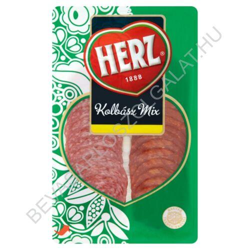 Herz Kolbász Mix szeletelt, védőgázas 70 g