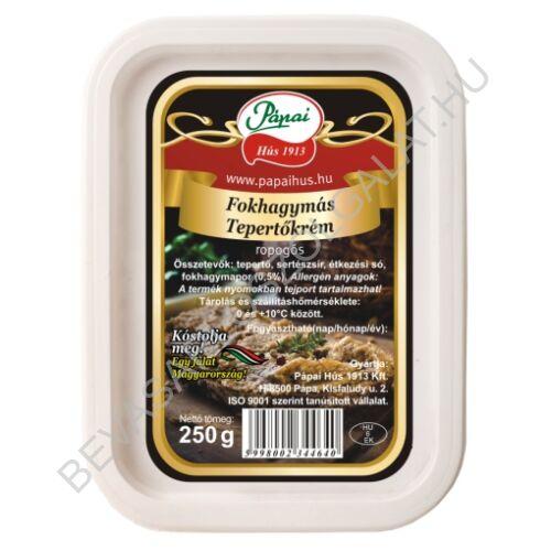 Pápai Hús Fokhagymás Tepertőkrém dobozos 250 g