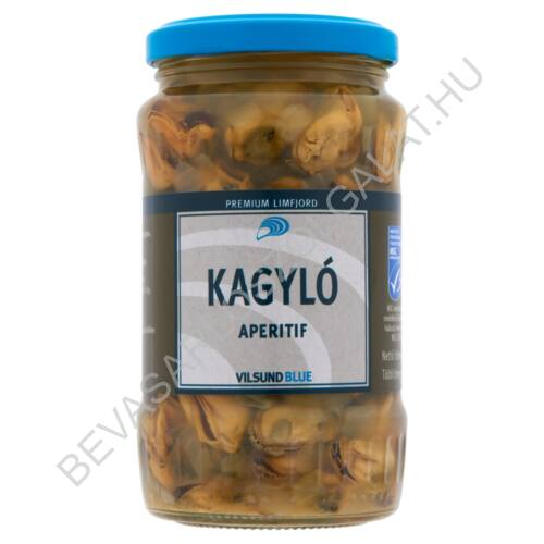Vilsund Blue Kagyló Aperitif üveges 350/200 g