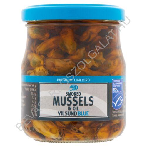 Vilsund Blue Füstölt Kagyló Növényi Olajban üveges 200/120 g