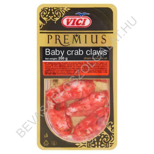 Vici Premius Baby Rákolló (Surimi Imitáció) Növényi Olajban 200 g