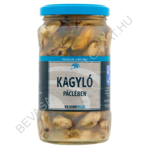 Vilsund Blue Kagyló Páclében üveges 350/200 g