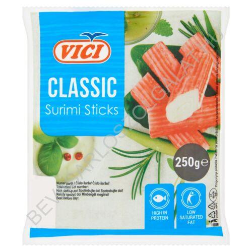 Vici Classic Surimi Sticks Surimi Rák Ízű Halrudacskák 250 g