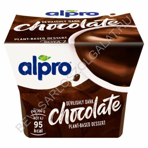 Alpro ördögien sötét étcsokoládés desszert 125 g