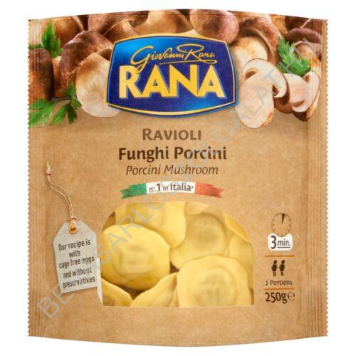 Giovanni Rana Ravioli tojásos, friss tészta gombás töltelékkel 250 g
