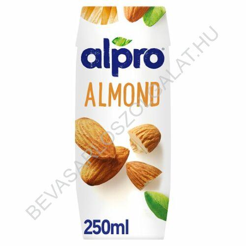 Alpro Mandulaital UHT szívószálas 250 ml