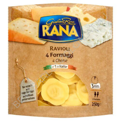 Giovanni Rana Ravioli tojásos, friss tészta sajtos töltelékkel 250 g
