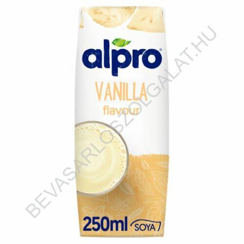 Alpro Szójaital Vaníliás UHT szívószálas 250 ml