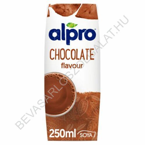 Alpro Szójaital Csokis UHT szívószálas 250 ml