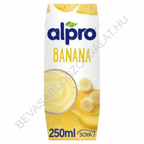 Alpro Szójaital Banános UHT szívószálas 250 ml