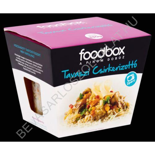 Foodbox Friss Készétel Tavaszi Csirkerizottó 300 g