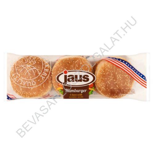 Jaus Szezámmagos Hamburger Zsemle 6 db, 300 g