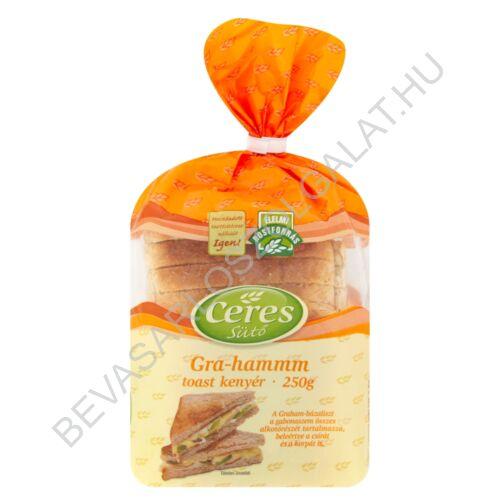 Ceres Sütő Gra-Hammm Toast Kenyér szeletelt 250 g
